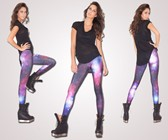 Galaxy Purple Leggings