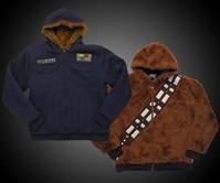 Han Solo-Chewbacca Reversible Hoodie