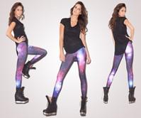 Galaxy Purple Leggings