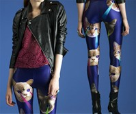 Laser Space Cats Leggings