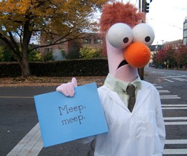 Beaker Muppet Halloween Costume