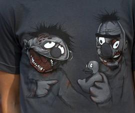 Zombie Bert & Ernie T-Shirt
