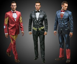 DC & Marvel Comics Suits