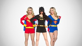 Ladies' Superhero Rompers