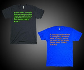 Single Sentence Film Summary T-Shirts