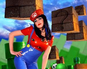 Super Mario Latex Dress