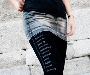 Skirt Length Sluttiness Stockings
