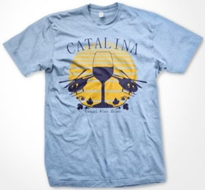 Catalina Wine Mixer T-shirt
