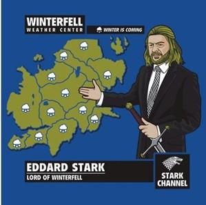 Winterfell Weather Forecast