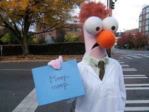 Beaker Muppet Halloween Costume-973