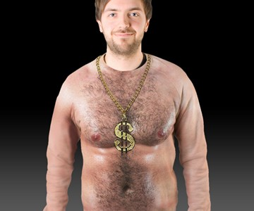 Hairy Chest Sweater Dudeiwantthatcom
