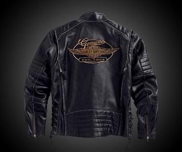 Kane Leather Harley-Davidson Jacket | DudeIWantThat.com