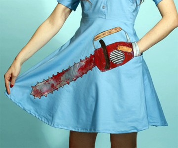 Bloody Chainsaw Dress