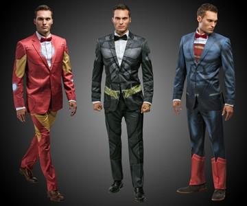 DC & Marvel Comics Suits