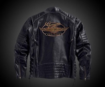 Kane Leather Harley-Davidson Jacket