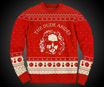 The Dude Abides Ugly Christmas Sweater