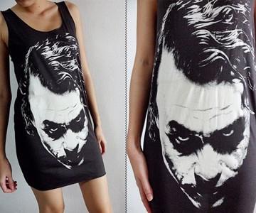 The Joker Mini Dress Closeup