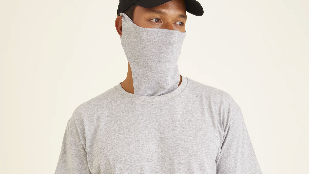 SafeTee - T-Shirt with Built-In Face Mask