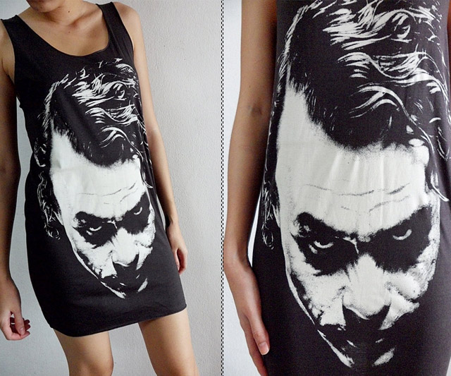 The Joker Mini Dress Closeup