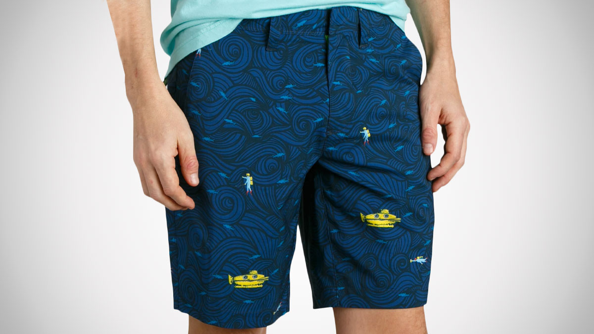 William Murray The Rough Life Water Hazard Shorts