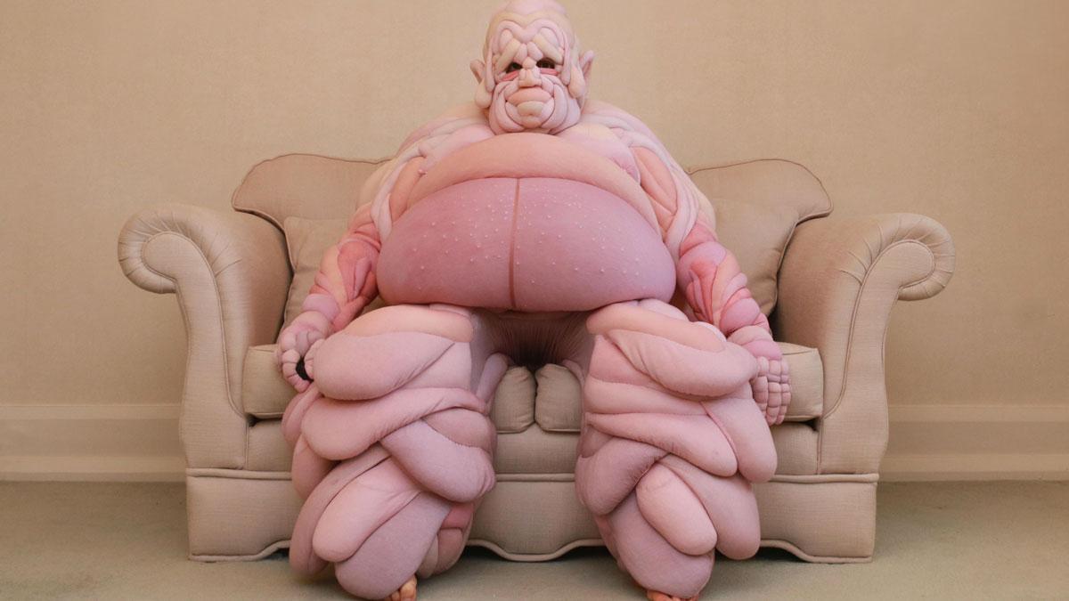 Daisy Collingridge Squishy Human Flesh Costumes
