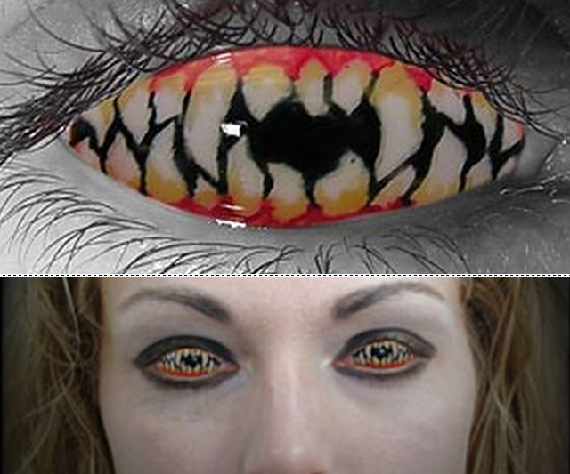 Halloween Contact Lenses | DudeIWantThat.com