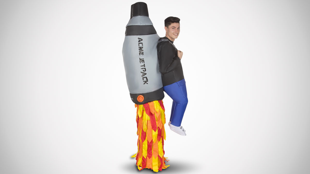 Inflatable Jetpack Costume