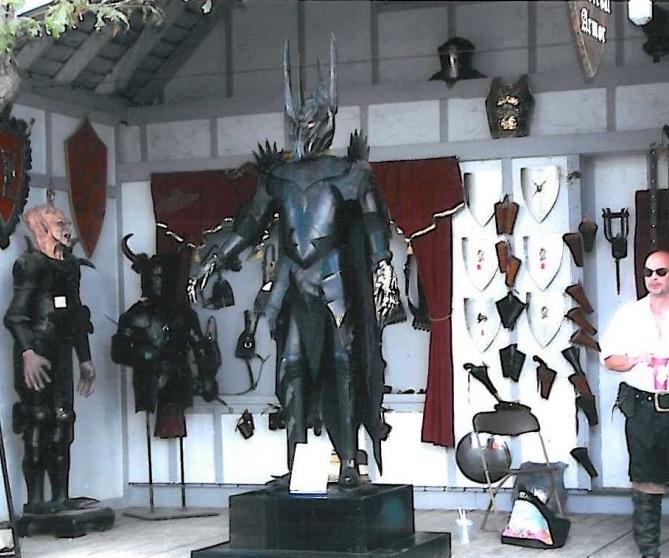 sauron leather armor