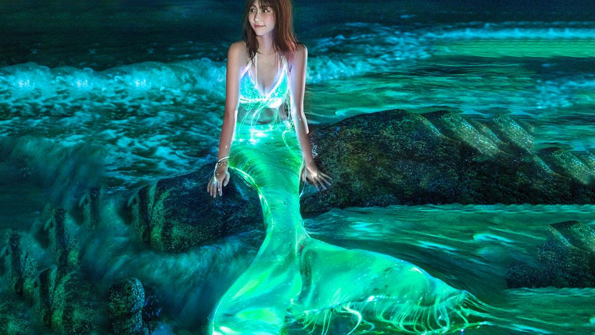 Luminous Mermaid Dress