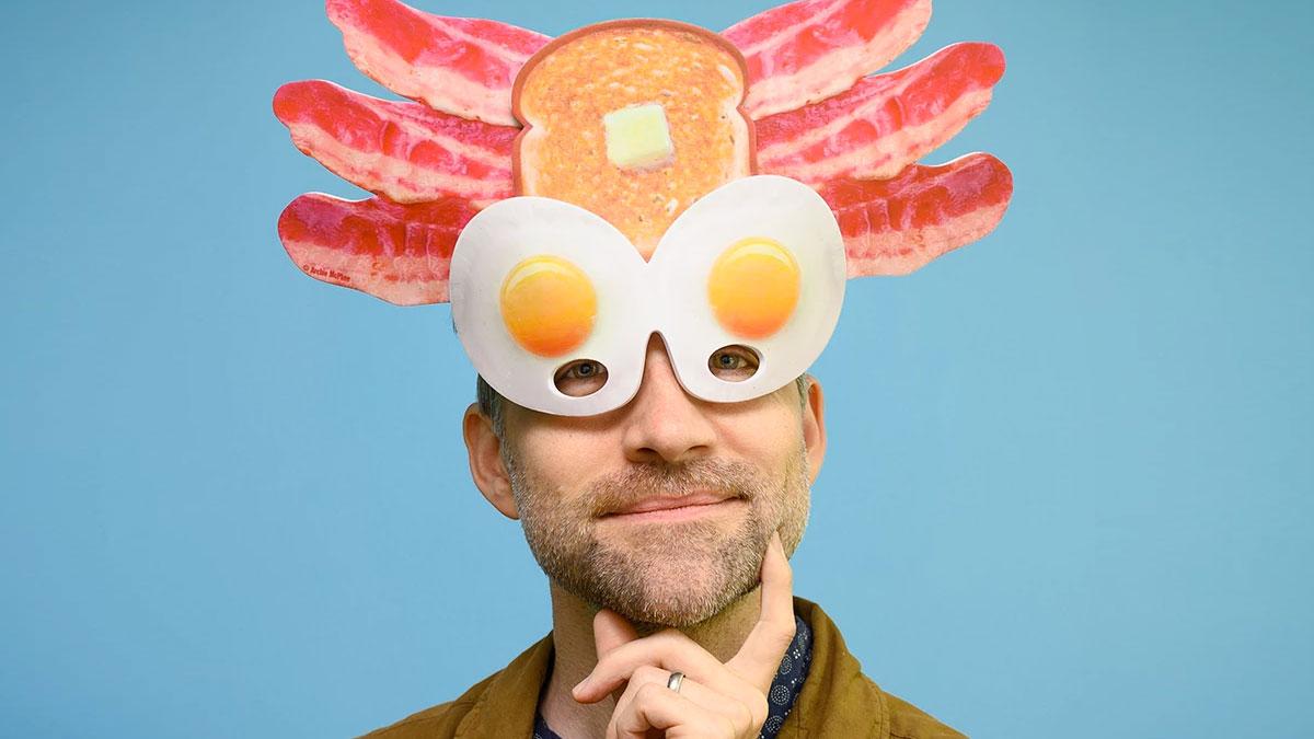 Pagan Breakfast God Mask