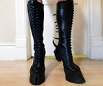 Demon Hooves Heelless Boots