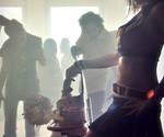 Lollipop Chainsaw Juliet Costume - Profile View