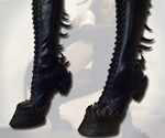 Demon Hooves Heel Less Boots