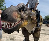 Giant Ride-On T-Rex Costume