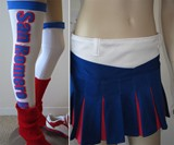 Lollipop Chainsaw Juliet Costume - Skirt & Legging Closeups