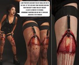Open Wound Prosthetics and Garters Closeups