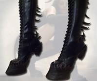 Demon Hooves Heel Less Boots