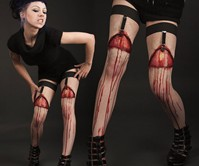 Flayed Flesh Garters