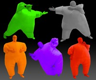 Inflatable Chub Suits