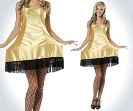 A Christmas Story Leg Lamp Dress