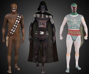 Second Skin Star Wars Suits