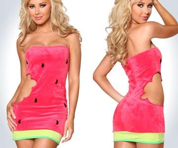 Sexy watermelon costume dudeiwantthat sexy watermelon costume solutioingenieria Gallery