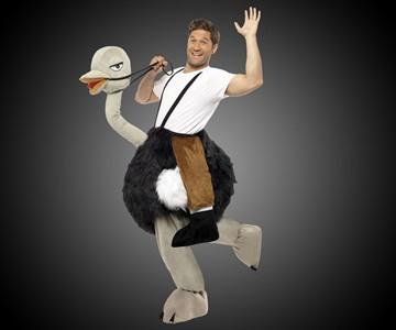 Ostrich Rider Costume