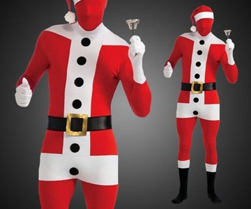 Second Skin Santa Bodysuit