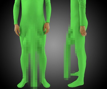 Well Endowed Zentai Suit