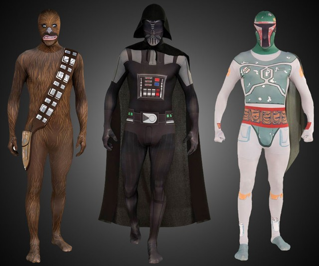 Second Skin Star Wars Suits Dudeiwantthat Com
