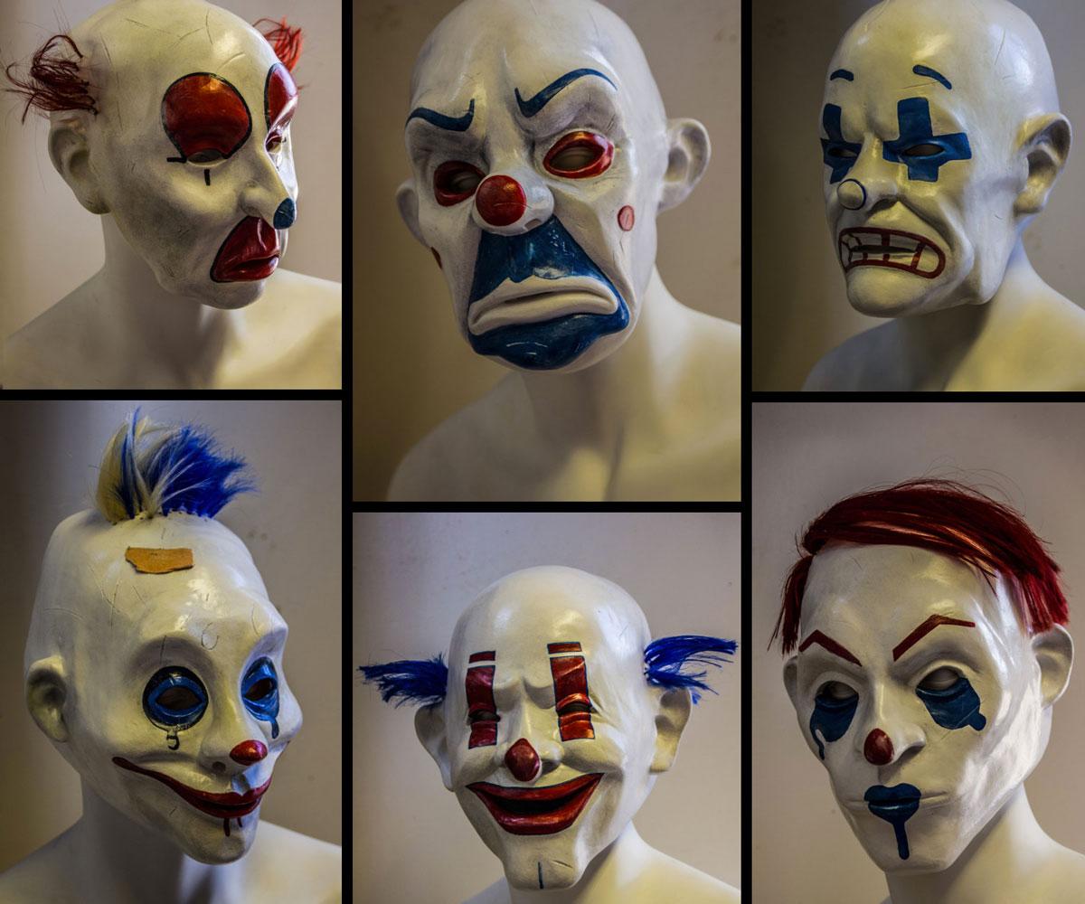 The Dark Knight Joker u0026 Henchmen Masks ...  sc 1 st  DudeIWantThat.com & The Dark Knight Joker u0026 Henchmen Masks | DudeIWantThat.com