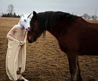 Unicorn Head Mask - DudeIWantThat.com