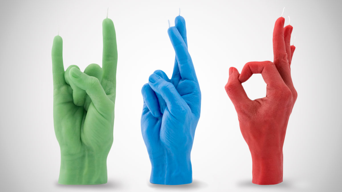 Candle Hand Hand Gesture Candles