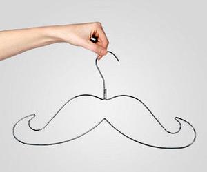 Mustache Hangers